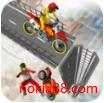 坡道摩托特技游戏